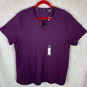 NWT Men's Faux Button T-Shirt